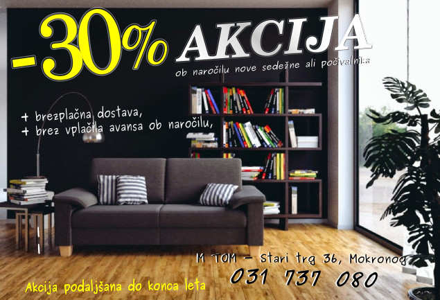 AKCIJA -30%