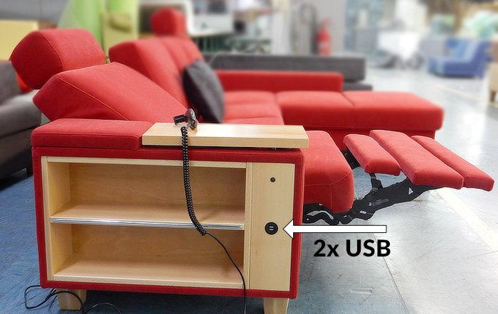 Stranica FLORJAN z USB polnilcem
