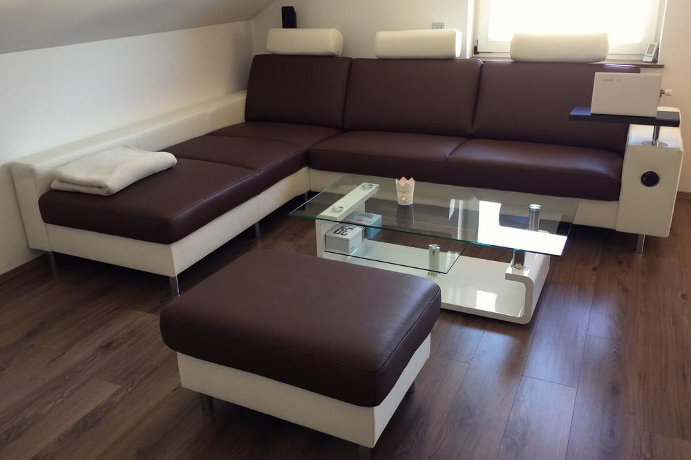 Moderne sedežne garniture